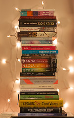 A Year in Books: 2017 (not without my camera_) Tags: books ayearinbooks 2017 read reading reader bookworm booknerd novels nonfiction stackofbooks pileofbooks readin2017 ankesbooks2017 light fairylights digital primelens 50mm14