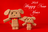 Happy New Year! (Arielle.Nadel) Tags: danbo danboard revoltech yotsuba yearofthedog 2018 happynewyear dog