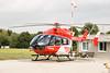 An der Station Stuttgart kommt ein Hubschrauber des Typs EC 145 zum Einsatz. (Foto Müller-Klenk) (DRF Luftrettung) Tags: ec145 luftrettung drfluftrettung hubschrauber stationstuttgart christoph51