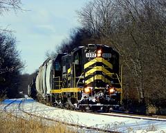 Indiana Northeastern at Hamilton Indiana (Matt Ditton) Tags: indiana northeastern hamilton train