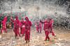 correfoc (Josep M.Toset) Tags: baixcamp catalunya correfoc ball balldediables d800 festes festa·major foc josepmtoset seguicifestiu colla nikon nikon·24·120 carretilles pirotècnia costums·i·tradicions