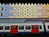 Quilted Tube (Douguerreotype) Tags: london uk underground metro british train city britain subway tube urban gb england