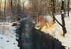 Nothing Burns Like the Cold (Matt Champlin) Tags: cold frozen got peace peaceful amazing life nature skaneateles stream canon 2017 quiet morning snow woods woodlands arctic snowstorm noreaster home rural winter water sunrise glow warmth