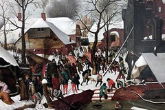 Pieter Bruegel Il Giovane (Kini Pier) Tags: canoneos500d canon canon1855mm pieterbruegel venezia museocorrer artlovers art arte quadro particolare detail figurative winter magi