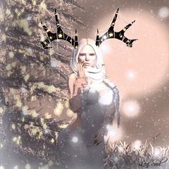 Oh... its Christmas (Leni Soul) Tags: sl secondlife marketplace blog shape lenisoul wordpress leni soul pukerainbowes puke rainbowes accessoires maitreya catwa runaway izzie´s winter christmas gacha rare
