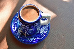 Drinking Chocolate (jpellgen (@1179_jp)) Tags: food kakawa chocolate elixir southwest usa america travel roadtrip nikon sigma 1770mm 2017 december winter d7200 santafe newmexico nm sf