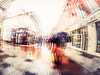 L'homme avec le  parapluie (Olympus Passion eric leroy) Tags: impression impressionisme flou blurr blurred olympus zuiko 918mm fisheye 8mm toscane sienne paris sceaux
