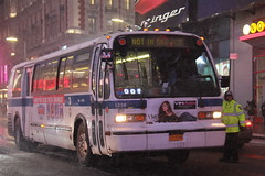IMG_4329 (GojiMet86) Tags: mta nyc new york city bus buses 1999 t80206 rts 5206 nis not in service 42nd street 7th avenue