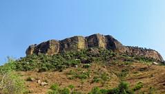 Pop-up Mountain (LeftCoastKenny) Tags: madagascar isalo day10 isalonationalpark trees mountain