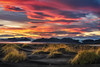 Sunset at Stokksnes (Alexander Lauterbach Photography) Tags: stokksnes vatnajökull iceland island glacier sunset clouds red epic sony a7r travel ice