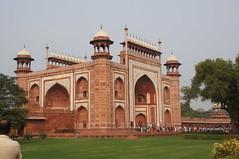 Taj Mahal gatehouse