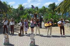 The tourist port (Flagman00) Tags: caribbeansea cruise ship carnivalfreedom cozumel mexico quintanaroo estadolibreysoberanodequintanaroo mariachis