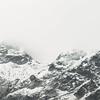 (sarazooey.) Tags: mountain landscape sky rocks mist fog italia italy montespluga cloudy cloud clouds nikon d3100 70300mm slopes nature adventure travel explore skyline view snow vsco vscocam alps hill