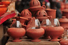 pottery creations (silalipidash) Tags: pondicherry potteryindiaindianstreet pondicherrystreetshops pottery handmadelamps
