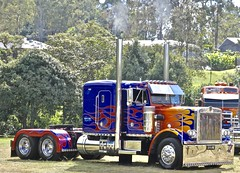 Prime (*SIN CITY*) Tags: prime optimus transformers transformer truck primemover custom vehicle transport show custompaint queensland qld australia big rig power horsepower mack peterbuilt international wheels optimusprime movie