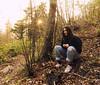 Fede al tramonto (niccozan88) Tags: landscape portrait nature wood bosco paesaggio natura ritratto ritrattoambientato nikon felicità happyness passione tramonto sunset