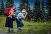 active photography (Rambofoto) Tags: fotografie urlaub foto kamera human street menschen oldladies mountainhiker photographer alpine