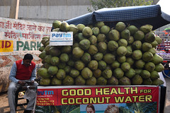 Accepte les cartes (Dotzap) Tags: pay payer avec carte card with pastèque water melon new delhi inde india