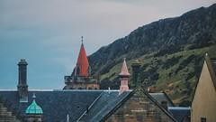 A room with a view XIV (Elisabeth Redlig) Tags: elisabethredlig scotland uk edinburgh newyear winter view scenery houses mountains rain