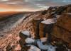 Devil's Burdens (Katherine Fotheringham) Tags: devils burdens stones volcanic rock sandstone scotland west lomond fife tayside perthshire sunset