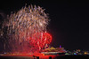 Queen Elizabeth and fireworks (David Blandford photography) Tags: queen elizabeth southampton docks southamptonwater cunard line cruise liner fireworks