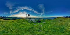 Gurnigelberg Sunset (Bugtris) Tags: gurnigel 815f4l sunset fisheye bike hdrdri sky stöckli canon 5dmkiii wolken landschaft bern schweiz
