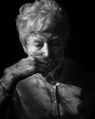 A Moment (bella_blue_star) Tags: mother elderly moment portrait