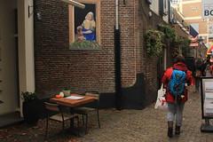 Utrecht, Netherlands (katelyn krulek) Tags: travel traveling travelling travels europetravel study abroad flickr exploring explore exploremore utrecht netherlands netherlandstravel utrechtnetherlands city urbanexploring urban outdoor table chairs people walking alley