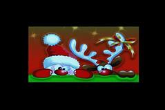 Santa's Gona Come in a PickupTruck .....!!! (imagejoe) Tags: christmas vegas street flickr strip cartoon color nikon tamron music shadows