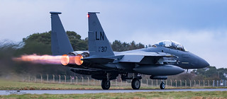 USAFE F15-E Strike Eagle
