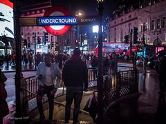 London Underground (amipal) Tags: 175mm capital city england gb greatbritain london lowlight manuallens night people piccadillycircus stairs street tubestation uk underground unitedkingdom urban voigtlander