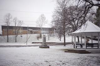 Siloam Springs snow (Connor Wilkinson)