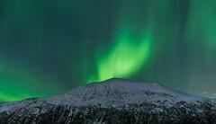 Mountain and Northern Lights (rafareceputi) Tags: northernlights auroraboreal auroraborealis tromso norway norge norwegiannorthernlights nightphotography norwaynorthernlights northernnorway arcticcircle arctic mountain troms no aurora norwegianlights norwayaurora