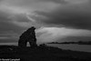 Iona, Mull in the background.  2011 (Ballygrant Boy) Tags: lr4photos august iona blackandwhite 2011 islay scotland captured