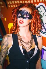 Charli Blake (Thomas Hawk) Tags: america bayarea california charli charliblake cossonhall sf sagehall sanfrancisco treasureisland usa unitedstates unitedstatesofamerica westcoast abandoned graffiti mask fav10 fav25