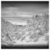Fresh snow in the mountain (Morten Heiselberg) Tags: landscape norway totland winter fineart bw blackandwhite snow