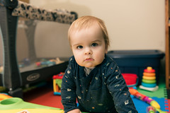 Will - 11 months old (Katherine Ridgley) Tags: toronto torontobaby baby babyboy babyfashion cutebaby family crawl crawling moving move indoor indoors house home play toy babytoy portrait