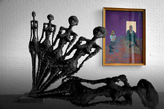 Musée, avec l'oeil de Ménière (alice 240) Tags: muséeavecloeildeménière museoconlocchiodimeniere museumwithmeniereseye artgalleryandmuseums digitalart digitalpoetry modernart photoshop photomanipulation artist alice240 atelier240art art alicealicjacieliczka sindromemeniere dream syndromemeniere magic illustration fantasy surrealism expression surreal expressionism louisiana denmark gallery museum poetry