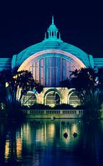 The New Build (Sondernaught) Tags: balboa california san diego night dark colors nikon canon photography architecture