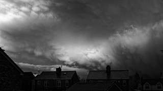Storm Dylan, looking North East