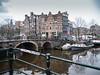 Prinsengracht (johan wieland) Tags: prinsengracht amsterdam westertoren lekkeresluis papiermolensluis