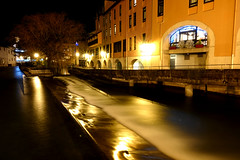 Annecy during night (Carandoom) Tags: 2017 bulding sky night water annecy france long exposure