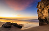 presunrise skies (JohnLazo19) Tags: 1635mm beach canon5dmarkiv elmatador landscapes morning ocean rocks sunrise water waves