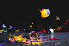 Paint with Glass Shards (einhundertstel.eu) Tags: glass paint color shards splash bulb