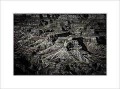 Grand Canyon (tkimages2011) Tags: grand canyon arizona landscape mono monochrome bw outside rocks buttes nationalpark