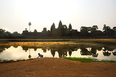 Angkor Wat 2017 Dsc_4896 (BryonLippincott) Tags: temple monk krongsiemreap siemreapprovince kh siem reap cambodian historical angkorwat buddhist buddhism hindu religious religion culture cultural stone ancient history worship carving columns sun ruins local boy pond reflection goldenhour carved old cambodia
