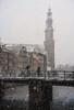 Winter in Amsterdam (reinaroundtheglobe) Tags: amsterdam nederland thenetherlands netherlands noordholland grachtengordel gracht brug bridge winter snow blizzard westerkerk canalhouses moody