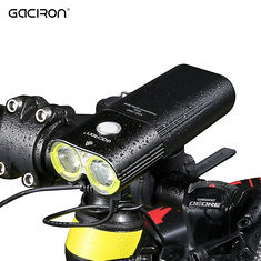 GACIRON 1600 LM Bike Front Headlight Cycling Bicycle Rechargeable Flashlight IPX6 Waterproof 5000mAh Power Bank Bike Accessories (1151563) #Banggood (SuperDeals.BG) Tags: superdeals banggood sports outdoor gaciron 1600 lm bike front headlight cycling bicycle rechargeable flashlight ipx6 waterproof 5000mah power bank accessories 1151563