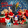 Merry Christmas Flickr (alexmadalton) Tags: dorbz heman vintage peteena toystory peterpan christmas figure toy doll vampire disney elsa sindy misspiggy popeye buffy