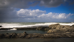 Angourie - NSW (Gandalph the Wise) Tags: storm waves rockpool
